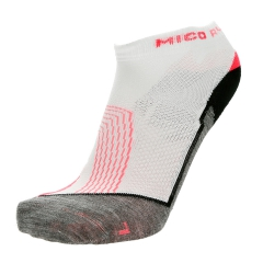 Mico XT2 Run Woman Socks - White/Black/Fuxia
