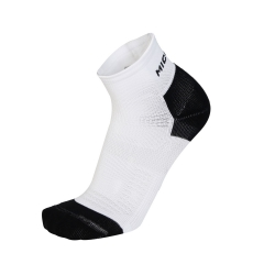 Mico Run Socks - White/Black