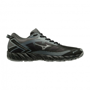 Men's Trail Running Shoes Mizuno Wave Ibuki 2 GTX  Black/Quiet Shade/Dark Shadow J1GJ195934