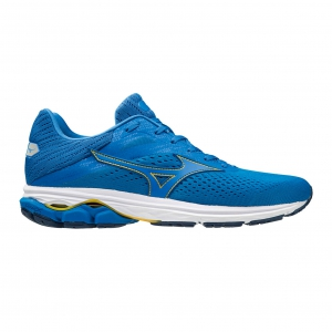 Men's Neutral Running Shoes Mizuno Wave Rider 23  Enamel Blue/Peacock Blue/Black J1GC190324