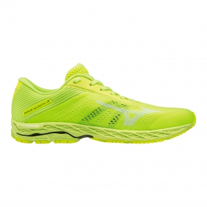 Men's Performance Running Shoes Mizuno Wave Shadow 3  Safety Yellow/White J1GC193002