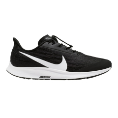 Nike Air Zoom Pegasus 36 Flyease - Black/White/Thunder Grey