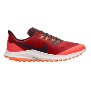 Men's Trail Running Shoes Nike Air Zoom Pegasus 36 Trail  Dune Red/Burgundy Ash/Mahogany AR5677600