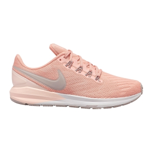 Woman's Structured Running Shoes Nike Air Zoom Structure 22  Pink Quartz/Pumice/Washed Coral AA1640601