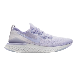 Women's Neutral Running Shoes Nike Epic React Flyknit 2  Lavender Mist BQ8927501