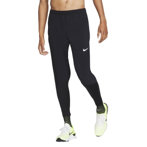 Men's Running Tights Nike Essential Hybrid Pants  Black/Reflective Silver BV4835010