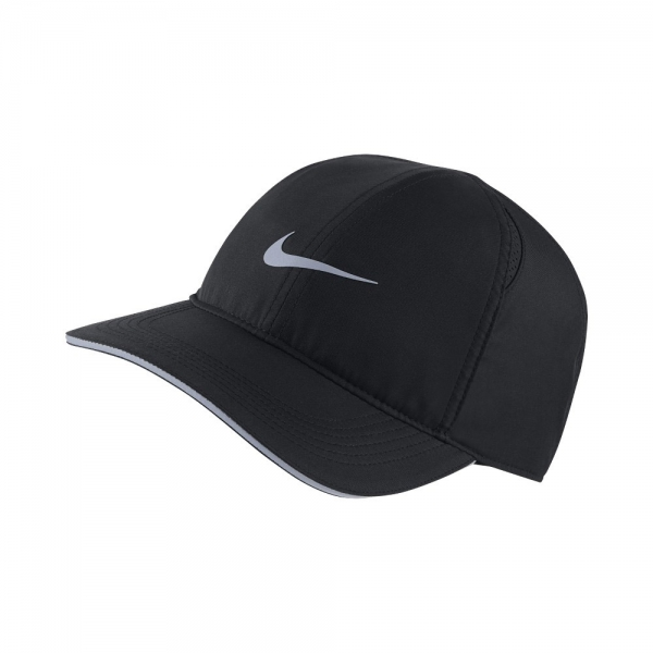 Nike Featherlight Running Cap Elite - Black 1c656aa6355