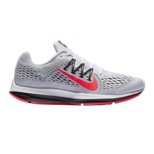 Men's Neutral Running Shoes Nike Air Zoom Winflo 5  Grey/Red AA7406101