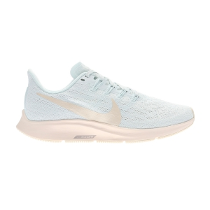 Women's Neutral Running Shoes Nike Air Zoom Pegasus 36  Ghost Aqua/Light Cream/Sail/Moon Particle AQ2210400