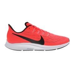 Nike Air Zoom Pegasus 36 - Bright Crimson/Black/Vast Grey/Obsidian Mist