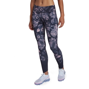 Tight Running Donna Nike Epic Lux Tights  Grey/Pink AH8174081