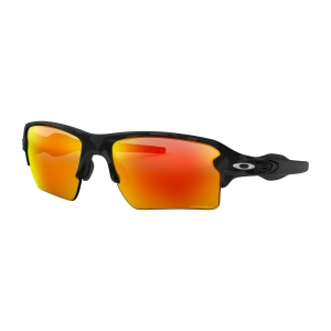 Oakley Flak 2.0 XL Glasses - Black Camo/Prizm Ruby