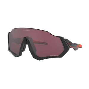 Oakley Flight Jacket Glasses - Matte Black/Prizm Road Black