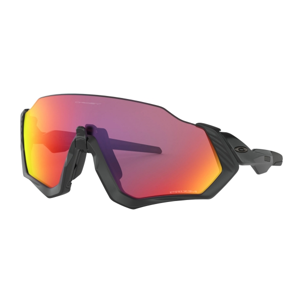 9e8446e2b7 Oakley Flight Jacket Glasses - Polished Black/Prizm Road 0OO9401-0137