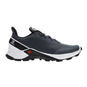 Women's Trail Running Shoes Salomon Alphacross  India/Ink/White Black L40804500