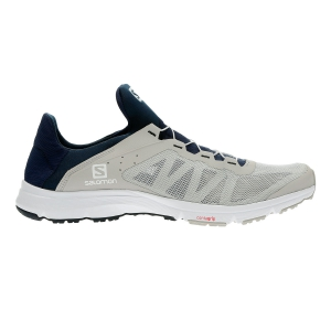 Men's Outdoor Shoes Salomon Amphib Bold  Grey/Navy L40681700