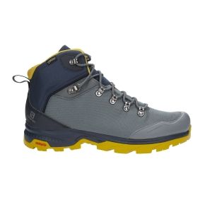 Scarpe Outdoor Uomo Salomon Outback 500 GTX  Grey/Blue/Yellow L40692600