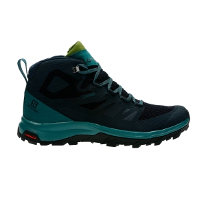 Women's Outdoor Shoes Salomon Outline Mid GTX  Navy L40484600