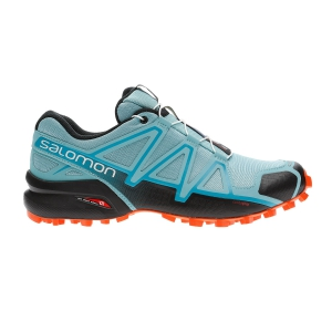 Women's Trail Running Shoes Salomon Speedcross 4  Meadowbrook/Black/Exotic Orange L40786600