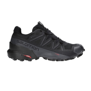 Women's Trail Running Shoes Salomon Speedcross 5 GTX  Black/Phantom L40795400