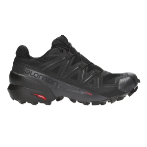 Women's Trail Running Shoes Salomon Speedcross 5  Black L40684900