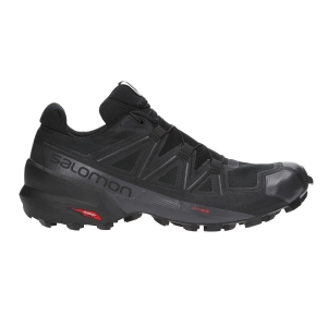 Men's Trail Running Shoes Salomon Speedcross 5  Black L40684000
