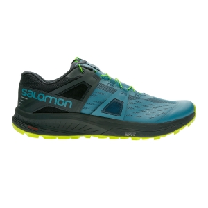 Men's Trail Running Shoes Salomon Ultra Pro  Blue/Grey L40676700