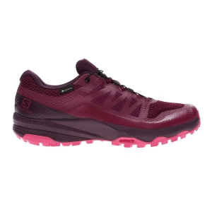 Women's Trail Running Shoes Salomon XA Discovery GTX  Beet Red/Potent Purple/Calypso Coral L40794800