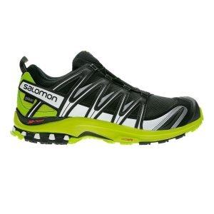 Men's Trail Running Shoes Salomon XA Pro 3D GTX  Black/White/Green L40671400