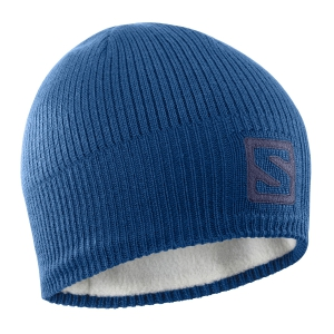 Beanies Salomon Big Logo Beanie  Poseidon/Night Sky LC1140500