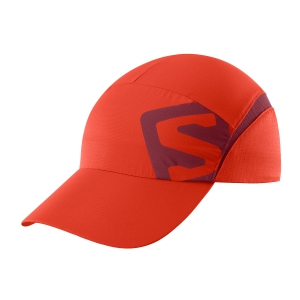 Hats & Visors Salomon XA Cap  Fiery Red/Biking Red LC1151400