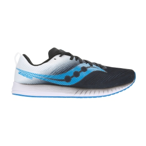uk availability f6aec 3a840 Mens Race Running Shoes Saucony Fastwitch 9 BlackWhite 290531