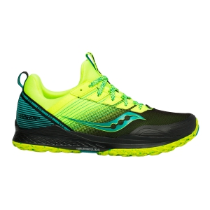 Scarpe Trail Running Uomo Saucony Mad River TR  Citron/Black 2052137