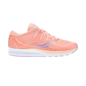 Junior Running Shoes Saucony Ride ISO 2 Girl  Peach SK161990