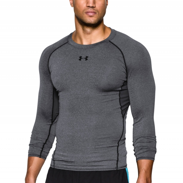 f530d5408 Under Armour HeatGear Armour Compression Shirt - Dark Grey 1257471-0090