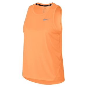 Women's Running Tank Top Nike Miler Tank  Orange AJ8102882
