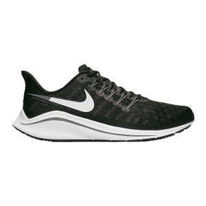 Men's Neutral Running Shoes Nike Air Zoom Vomero 14 4E  Black/White/Thunder Grey AQ3121010