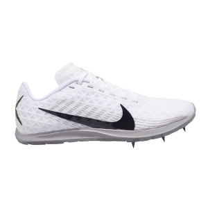 Women's Race Running Shoes Nike Zoom Rival XC 2019  White/Black/Atmosphere Grey AJ0854100
