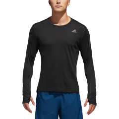 Adidas Own The Run Shirt - Black