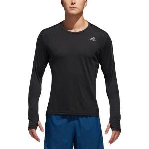 86d849b5b80 Men's Running Shirt Adidas Own The Run Shirt Black DQ2576