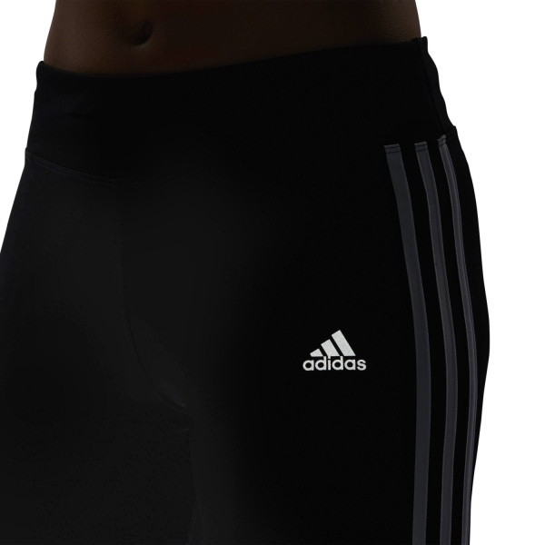 Women's 3 Running Blackwhite Tights Run Stripes 78 Adidas