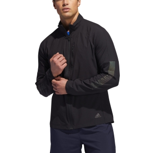 Men's Running Jacket Adidas Rise Up N Run Jacket  Black DZ1575