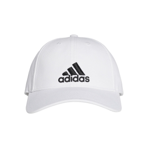 Hats & Visors Adidas Classic Six Panel Cap  White/Black S98150