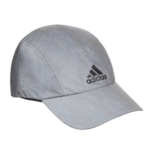 Hats & Visors Adidas Run Reflective Cap Womens  Silver/Black CW0754OSFW