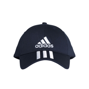 Cappellini e Visiere Adidas Six Panel Classic 3 Stripes Cap  Navy/White DU0198