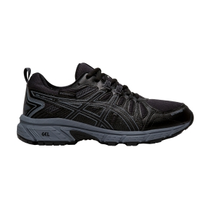 Junior Running Shoes Asics Gel Venture 7 GS WP Boy  Black/Metropolis 1014A078002