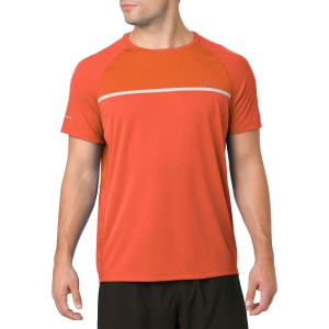 Men's Running T-Shirt Asics Dry TShirt  Orange 2011A289.801