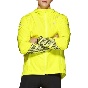 Men's Running Jacket Asics Lite Show 2 Jacket  Yellow 2011A470750