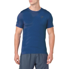 Asics Seamless T-Shirt - Dark Blue