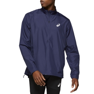 Men's Running Jacket Asics Silver Jacket  Navy 2011A024406